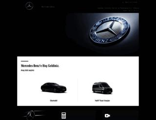 hasmer.mercedes-benz.com.tr screenshot
