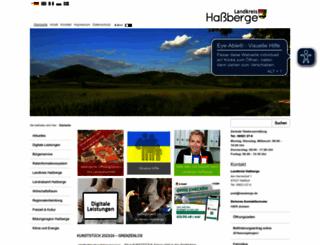 hassberge.de screenshot