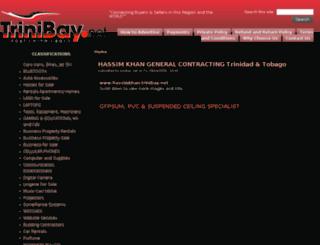 hassimkhan.trinibay.net screenshot
