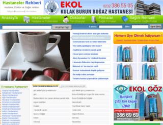 hastanelerrehberi.net screenshot