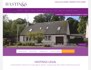 hastingslegal.co.uk screenshot