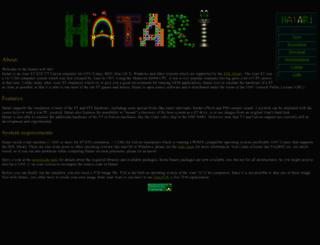 hatari.tuxfamily.org screenshot