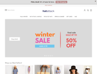 hatattack.com screenshot