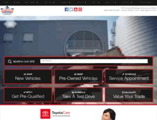 hatch-toyota.calls.net screenshot