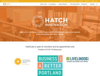 hatchthefuture.org screenshot
