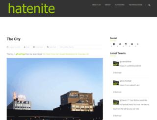 hatenite.com screenshot
