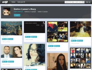 haticeamur.muzy.com screenshot