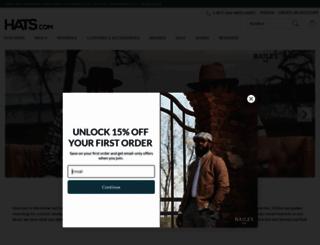 hats.com screenshot