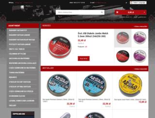 hatsan.com.pl screenshot