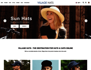 hatsandcaps.co.uk screenshot