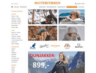 hatteholm.com screenshot