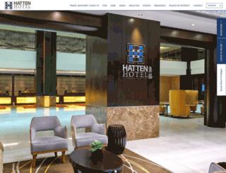 hattenhotel.com screenshot