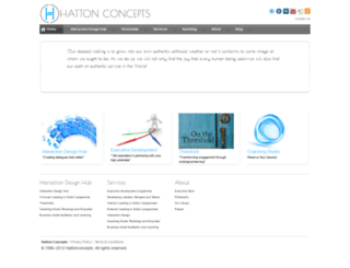 hattonconcepts.com screenshot