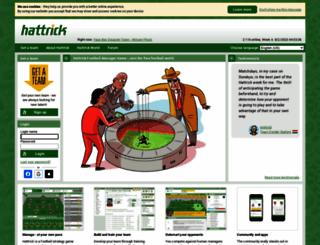 hattrick.org screenshot