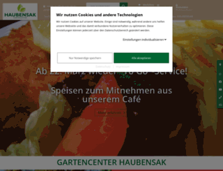 haubensak.de screenshot