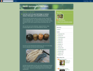 haubi-spinnes-wollwerkstatt.blogspot.com screenshot