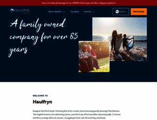 haulfryn.co.uk screenshot