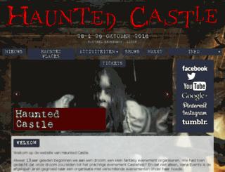 hauntedcastle.nl screenshot