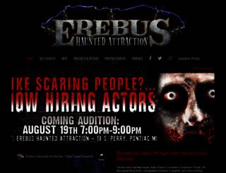 hauntedpontiac.com screenshot