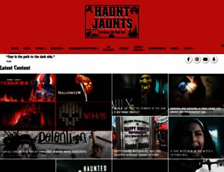 hauntjaunts.net screenshot