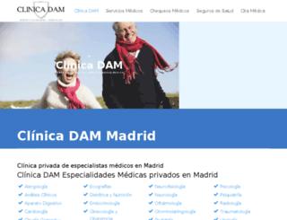 hauora.clinicadam.com screenshot