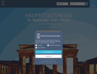 hauptstadtmesse.de screenshot
