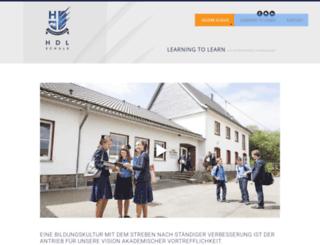 haus-des-lernens.org screenshot