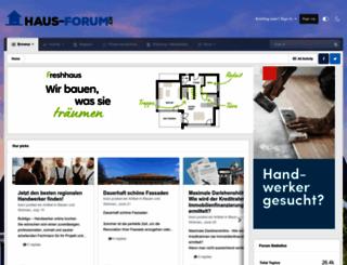 haus-forum.ch screenshot