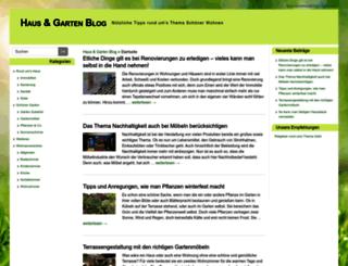 haus-garten-wohnideen.de screenshot