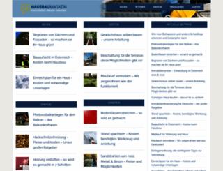 hausbaumagazin.at screenshot