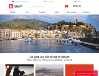 hauser-exkursionen.de screenshot