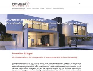 hauser-immo.de screenshot