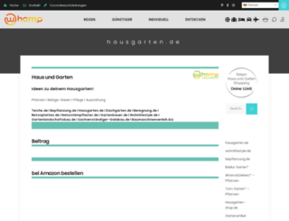hausgarten.de screenshot