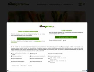 hausgarten.net screenshot