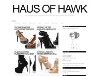 hausofhawk-preorder.blogspot.com screenshot