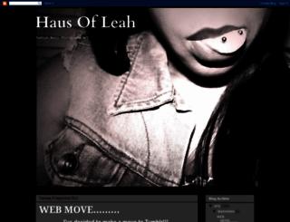 hausofleah.blogspot.nl screenshot