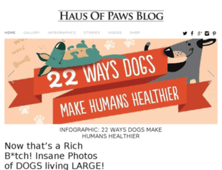 hausofpawsblog.com screenshot