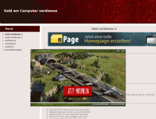 haussireck.npage.de screenshot
