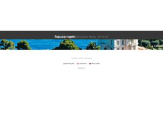 haussmanninternational.com screenshot