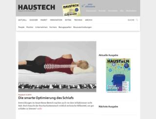 haustech-magazin.ch screenshot