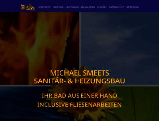 haustechnik-smeets.de screenshot