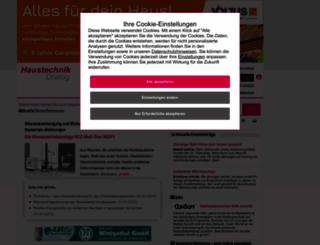 haustechnikdialog.de screenshot