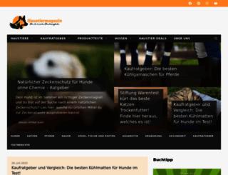 haustiermagazin.com screenshot