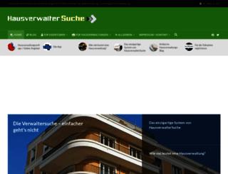 hausverwaltersuche.de screenshot