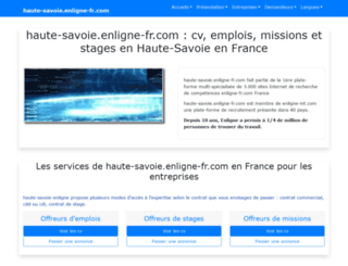 haute-savoie.enligne-fr.com screenshot