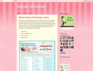 hautemommyblog.blogspot.com screenshot
