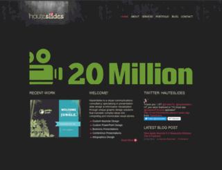 hauteslides.com screenshot
