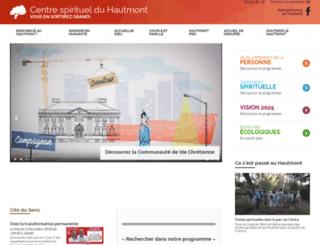 hautmont.org screenshot