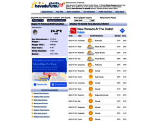 havadurumu15gunluk.net screenshot