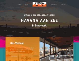 havana-zandvoort.nl screenshot